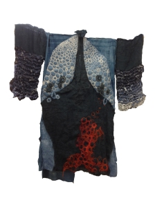 back of kimono