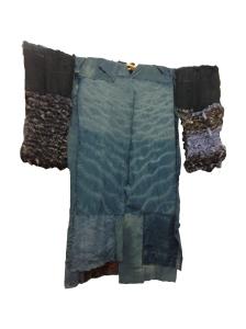 front of kimono
