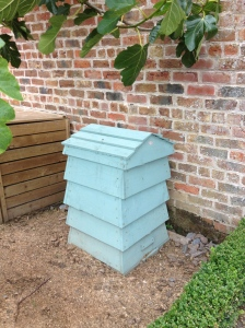 blue beehive